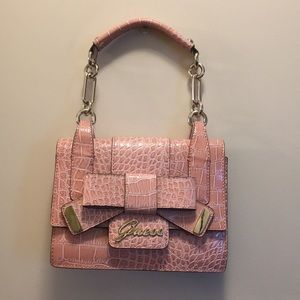 Guess Bags - Brand New Guess Pink Bow Purse